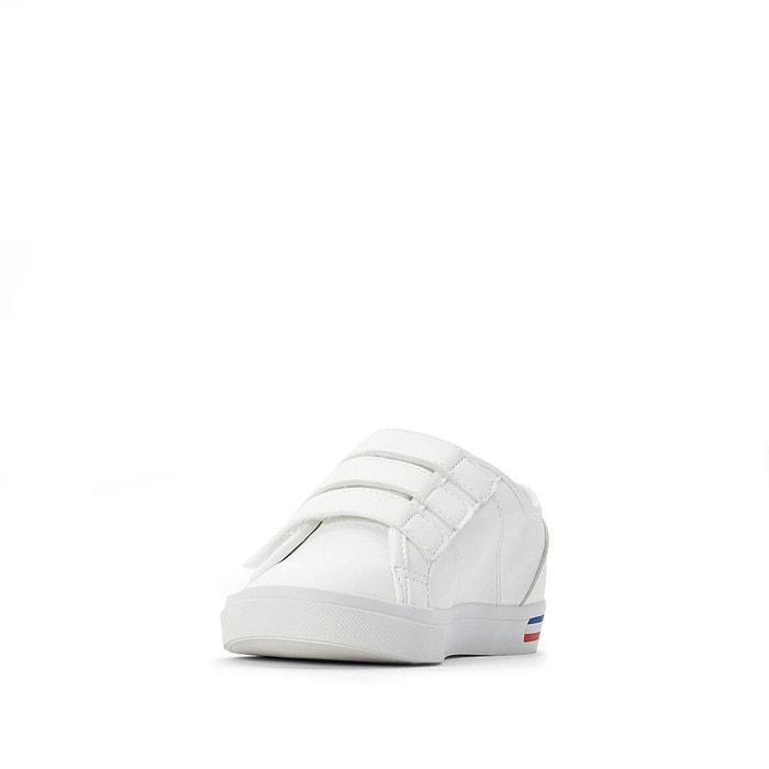 Sneakers met klittenband verdon premium wit Le Coq Sportif