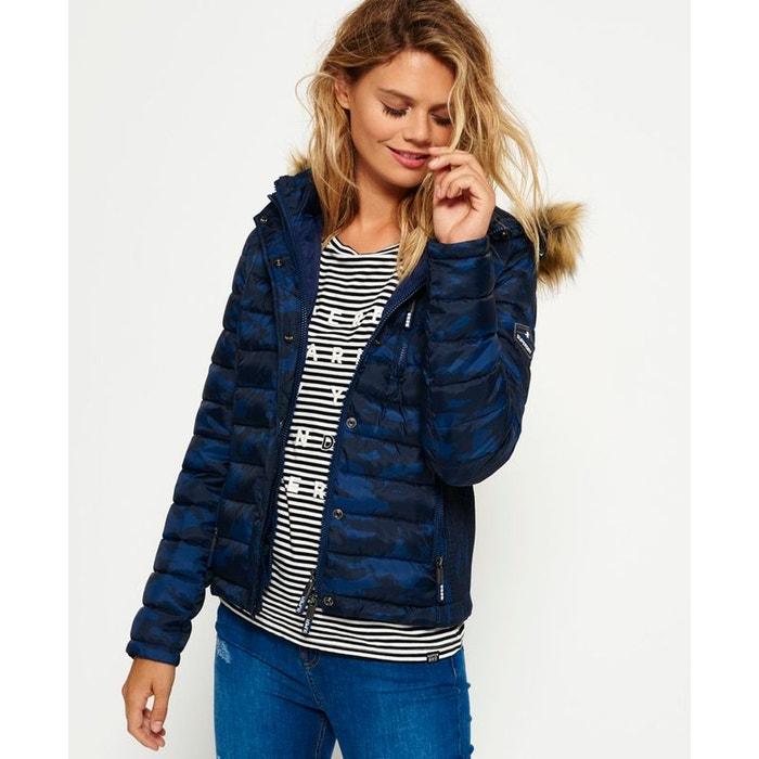 Veste à capuche à double zip fuji slim Superdry | La Redoute