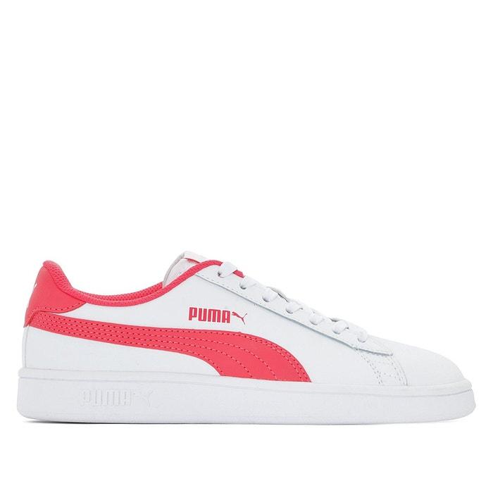 Baskets jr puma smash v2 l blanc rose Puma | La Redoute