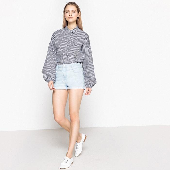 timeless design febe0 4d73e Camicia ampia stile boyfriend, maniche lunghe La Redoute ...