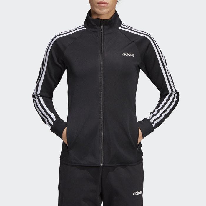 Chaqueta entallada d2m tracktop negro Adidas Performance
