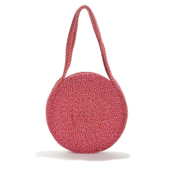nouveaux styles a17f7 67f0f Grand sac rond rose La Redoute Collections | La Redoute