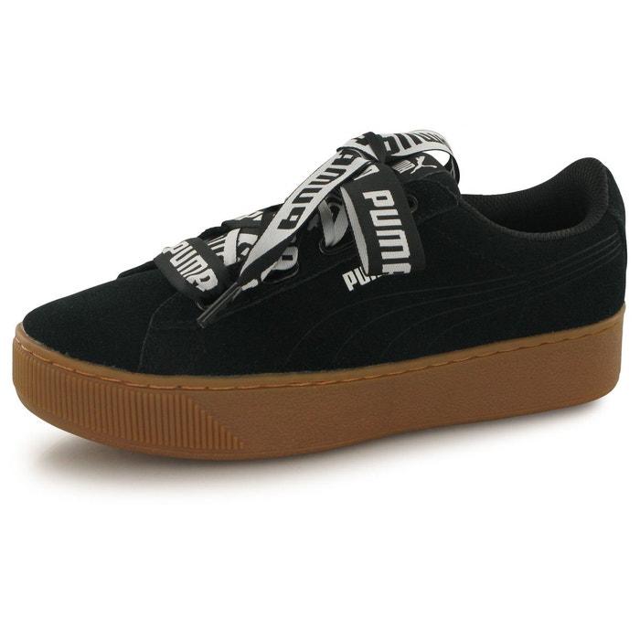 Puma vikky platform ribbon bold noir chaussures femme