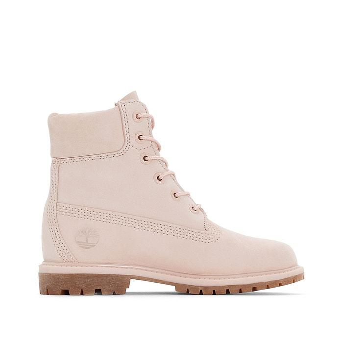 Boots cuir 6 in premium ca1k3z rose Timberland | La Redoute