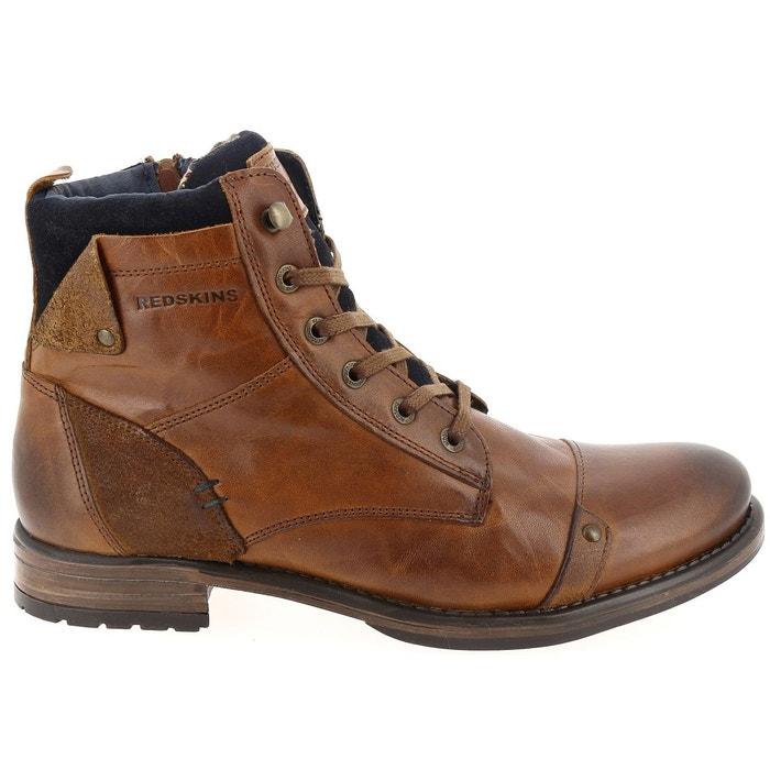 style exquis offrir des rabais sélection mondiale de Boots cuir cognac Redskins | La Redoute