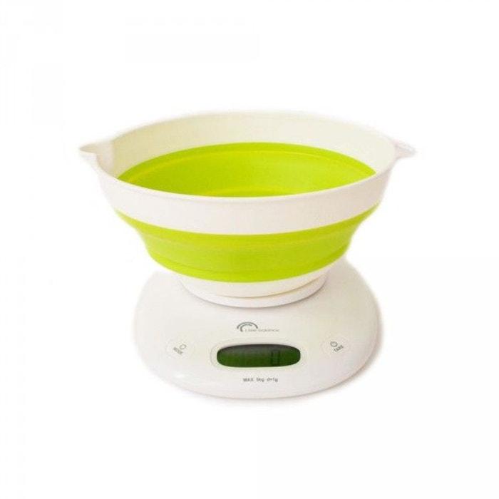 Balance De Cuisine électronique 5kg 1g Vert Anis 8064
