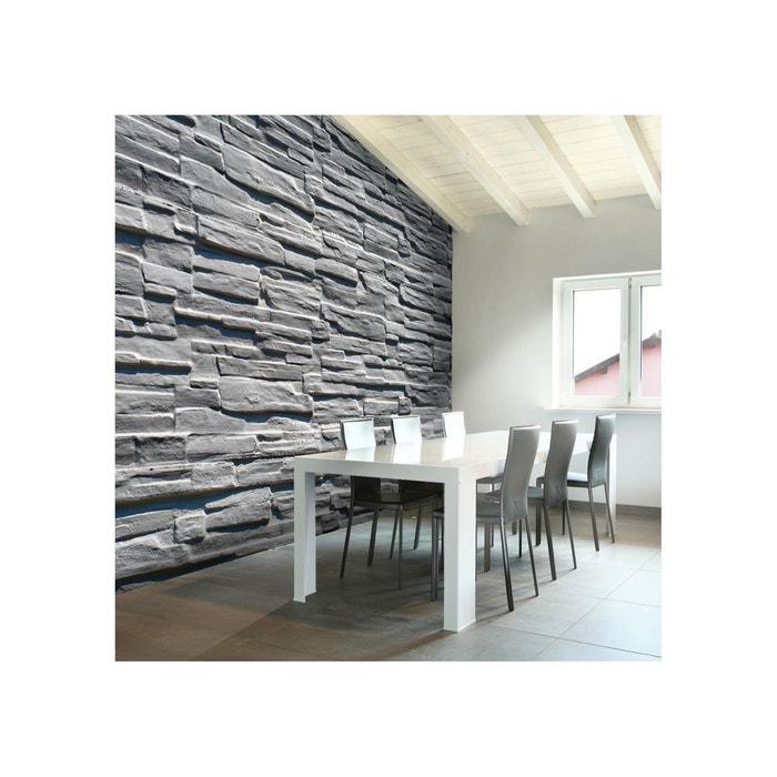 Papier peint mur de pierre grise gris Artgeist | La Redoute