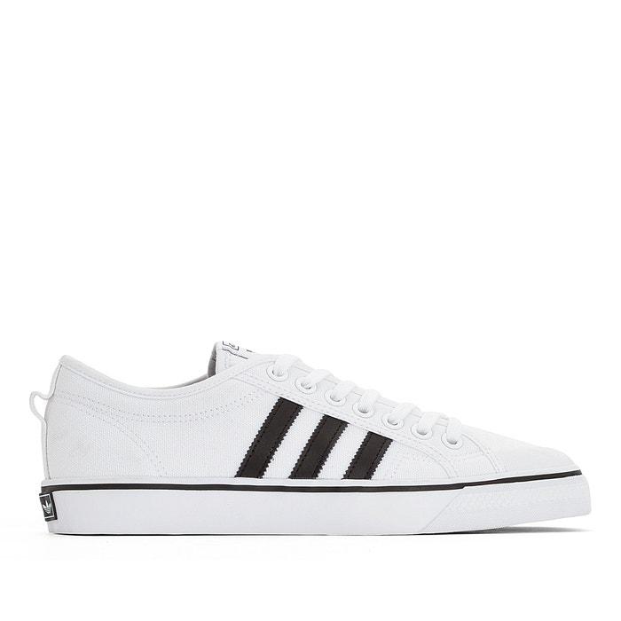 Zapatillas de lona nizza blanco Adidas Originals | La Redoute