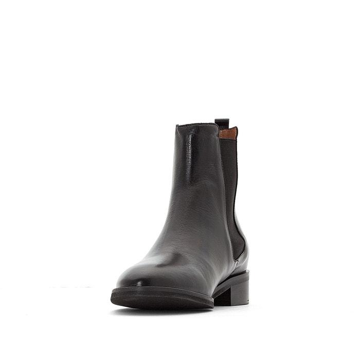 choisir le dernier dernières conceptions diversifiées Domicio leather chelsea boots black Jonak | La Redoute