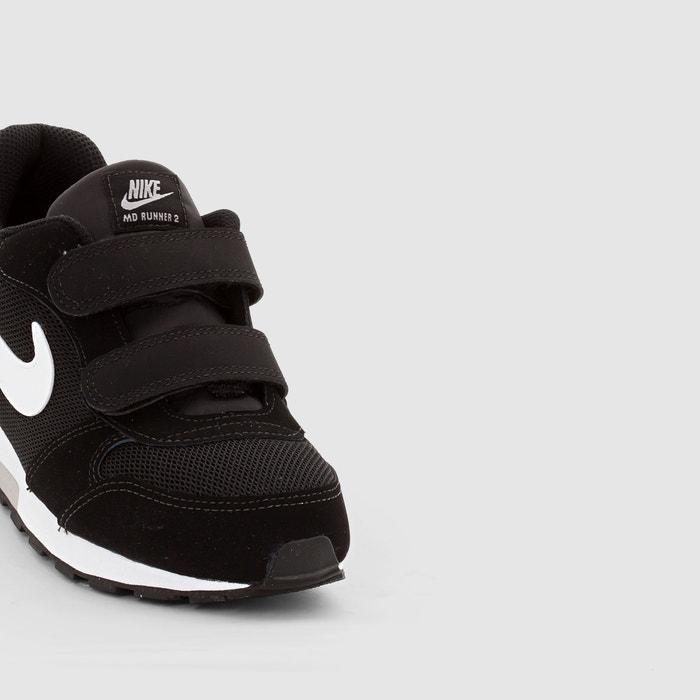 Nike MD Runner 2 PS Enfant NoirBlanc à Petits Prix, Basket
