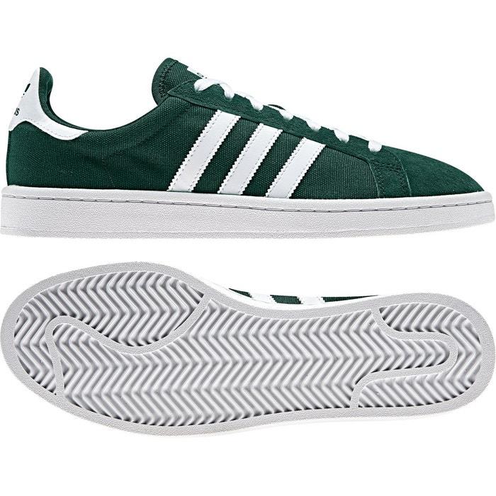 Baskets campus vert Adidas Originals   La Redoute