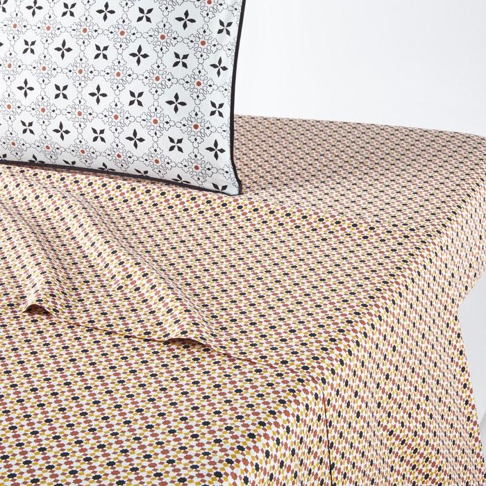 Drap Plat Percale De Coton Teyben