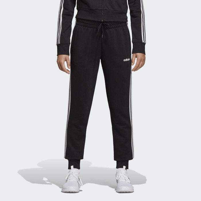 Adidas Essentials 3 Stripes Hose Black White Damen