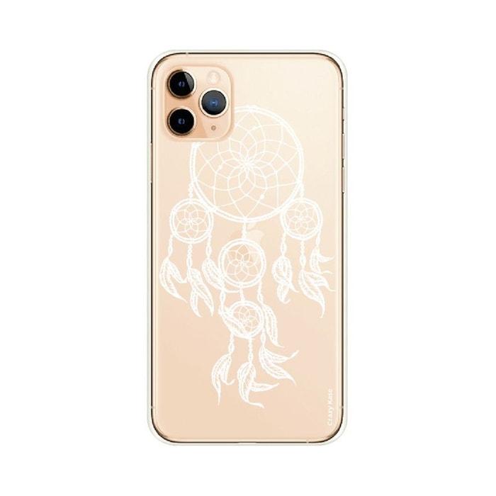 Coque pour iPhone 11 Pro Max souple motif Attrape Rêves Blanc