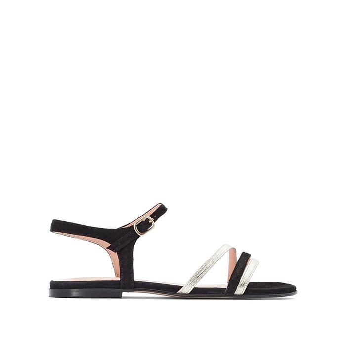 Sandalen amelika zwartgoud Jonak   La Redoute