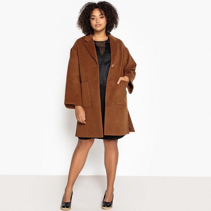 store estetica di lusso più recente Cappotto collo a scialle in misto lana cammello Castaluna ...
