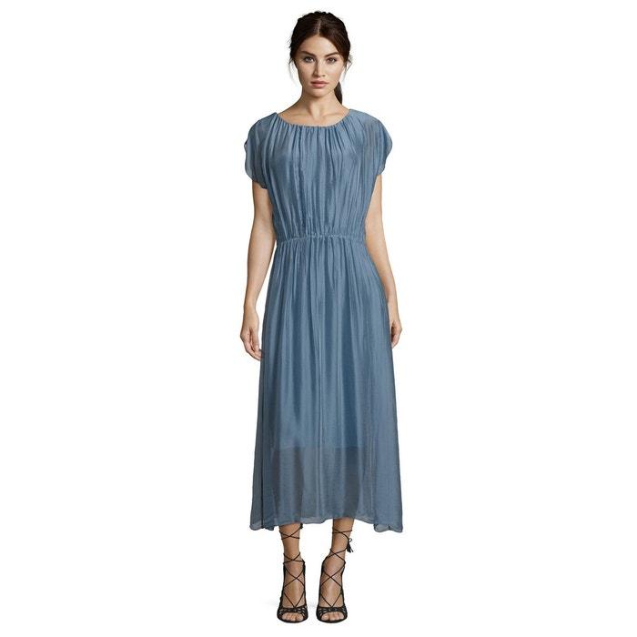 robe bleu layette