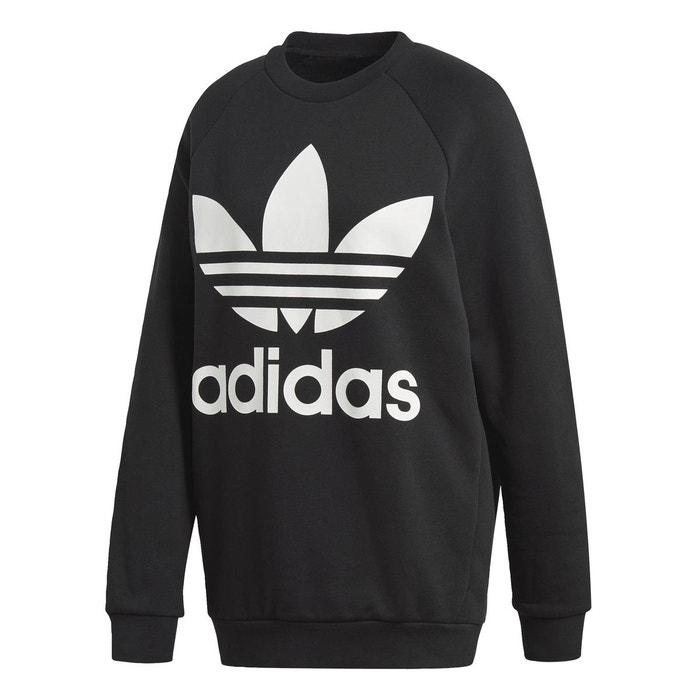Adidas Trefoil Sweat S Hommes Originals Original Pull ras du