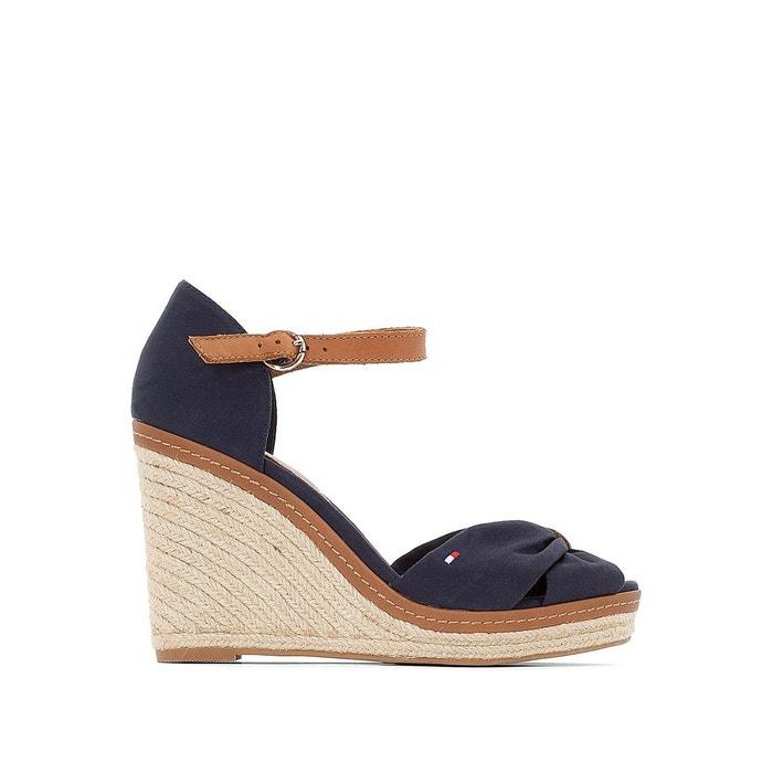 Sandales à talon compensé elena Tommy Hilfiger | La Redoute