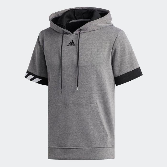 Sweat shirt à capuche Cross Up 365 Blanc adidas | adidas