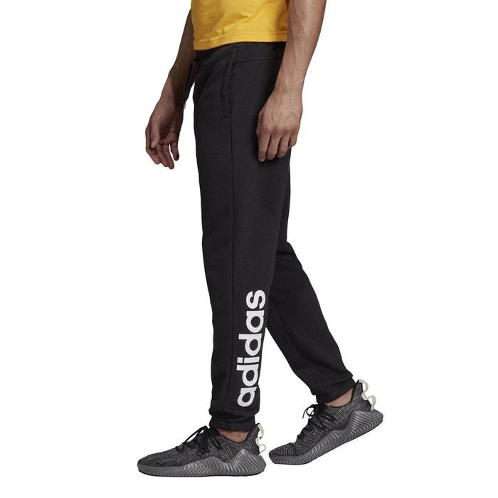 Jogging Adidas molleton noir linear PerformanceLa Redoute