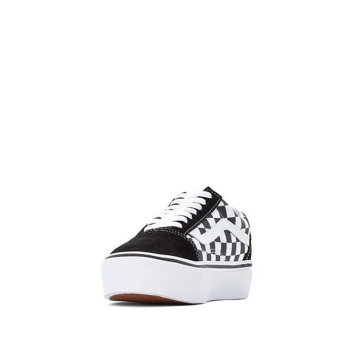 Baskets ua old skool platform noirblanc Vans | La Redoute