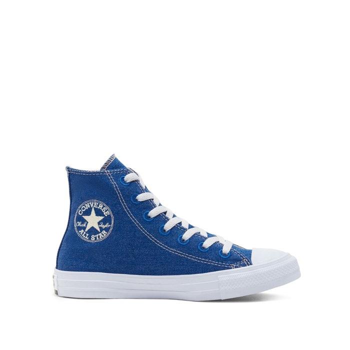 Chuck taylor all star suede hi bleu marine Converse | La Redoute