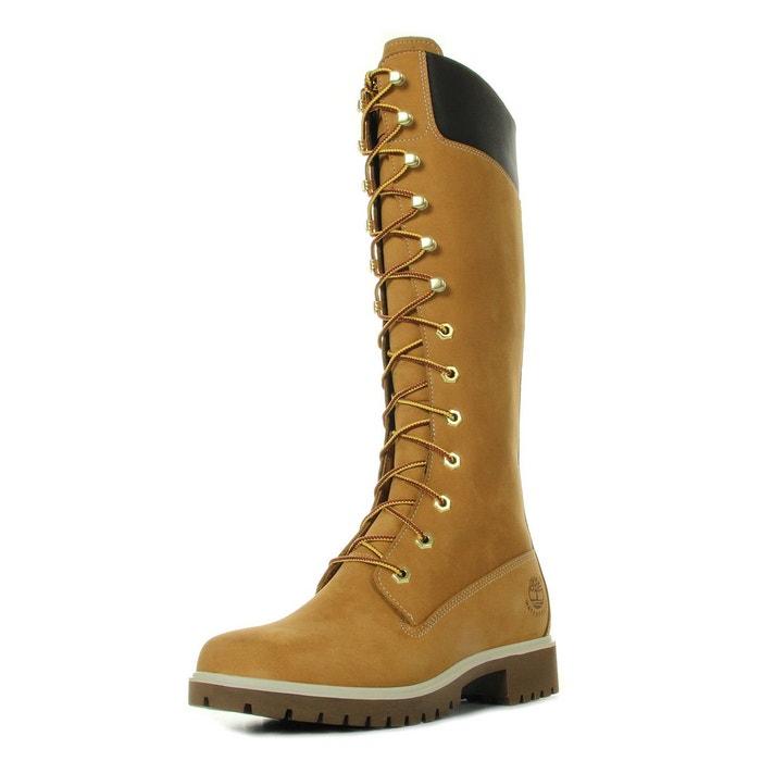 Bottes 14'' waterproof boot nubuck marron Timberland   La