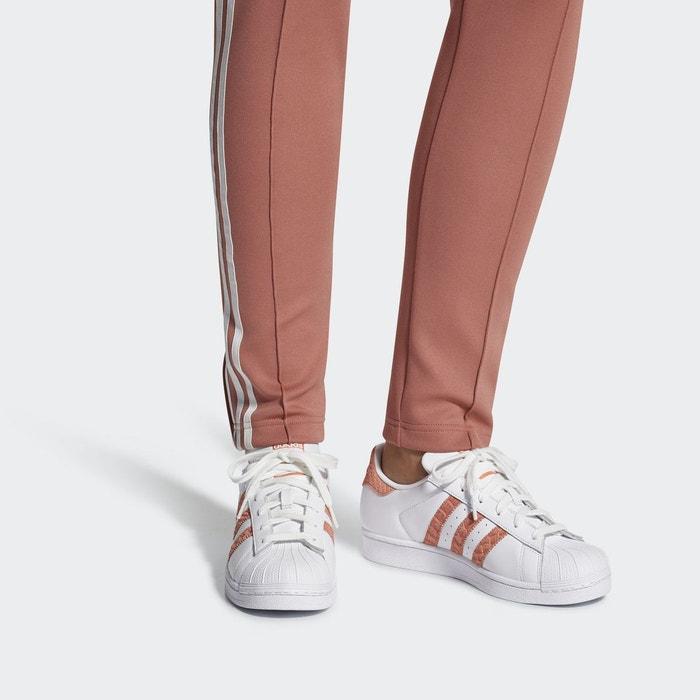 Chaussure superstar blanc Adidas Originals   La Redoute