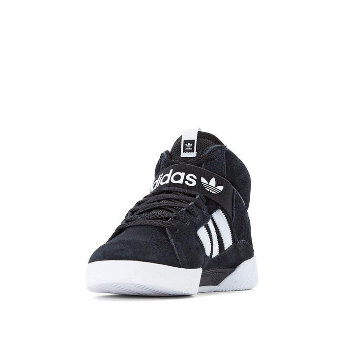 Zapatillas de caña alta de piel vrx negro Adidas Performance