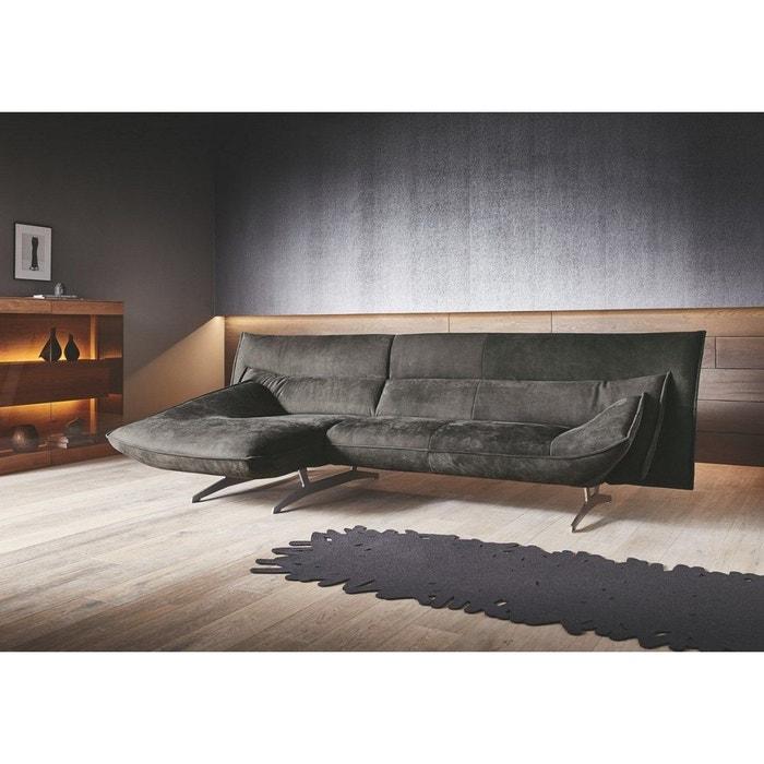 meilleur authentique 1daf2 3c27f Am marvel canapé angle chaise longue nubuck daim marron ...