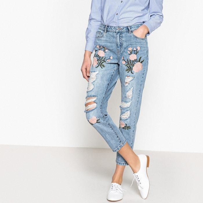 Sortendesign verschiedenes Design Fang Boyfriend jeans , light denim blue, Only   La Redoute