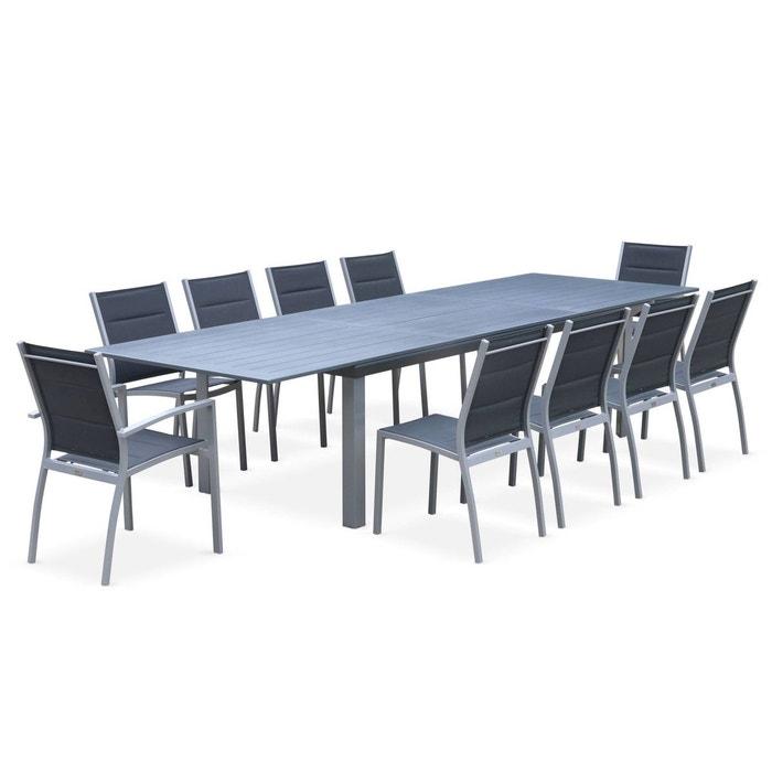 Salon de jardin table extensible - odenton - grande table en ...