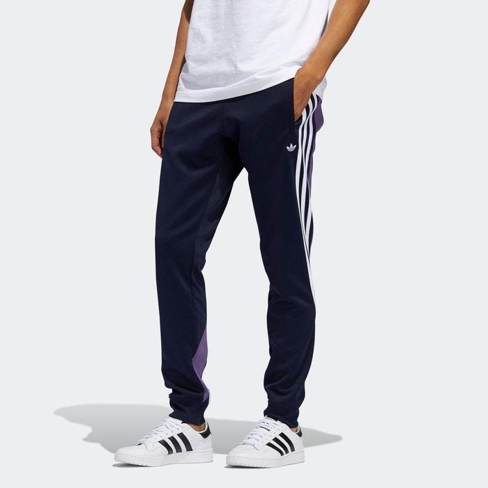 Pantalon de survêtement 3 stripes wrap bleu Adidas Originals