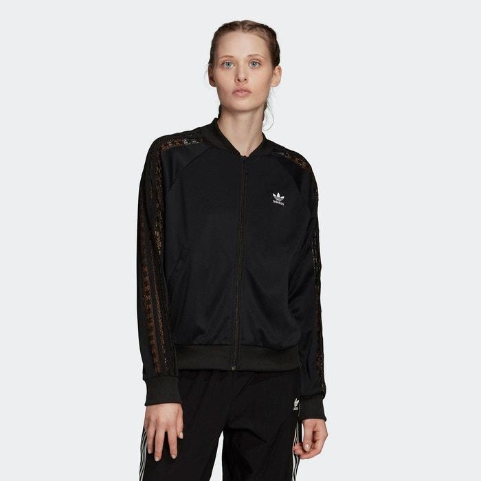 Veste de survêtement lace noir Adidas Originals | La Redoute