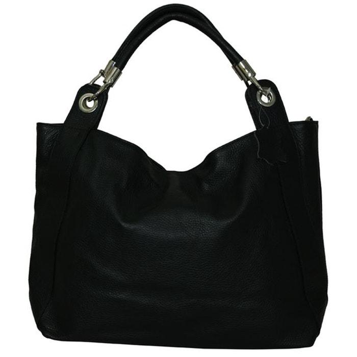 Grand sac à main cuir Camélia