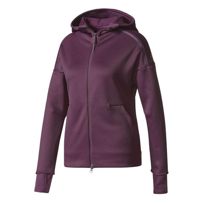 Veste adidas z.n.e. climaheat violet Adidas Performance   La