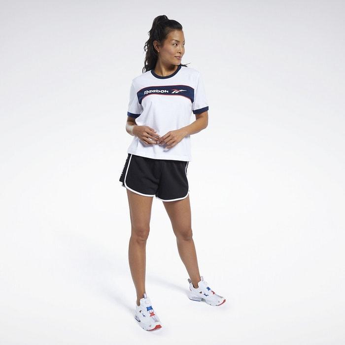 T shirt sport classics Reebok Classics blanc | La Redoute