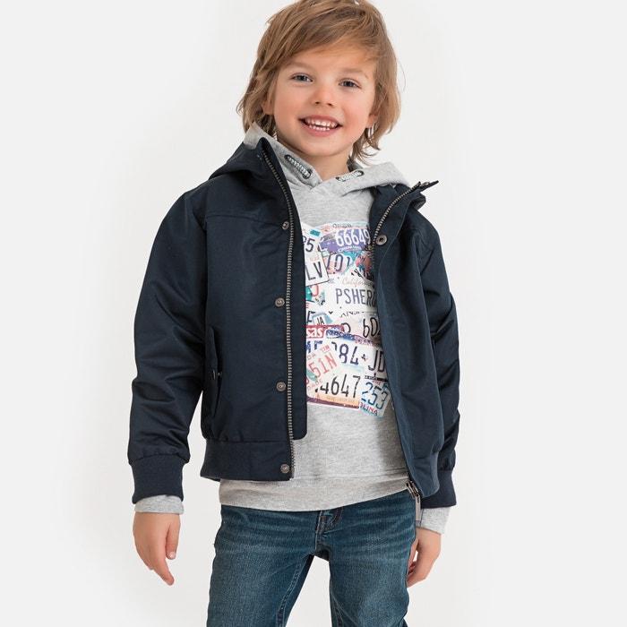 3-12 Years La Redoute Collections Big Boys Denim Bomber Jacket
