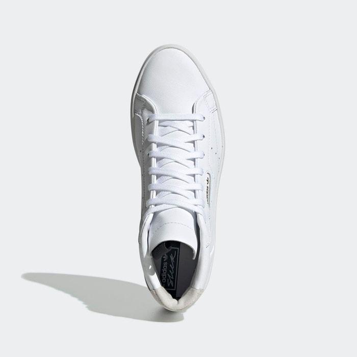 adidas sleek blanche