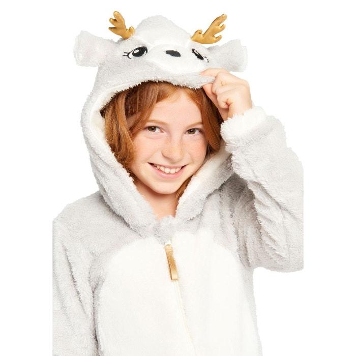 the cheapest amazing selection wholesale price Combinaison pyjama cerf gris Lolaliza | La Redoute