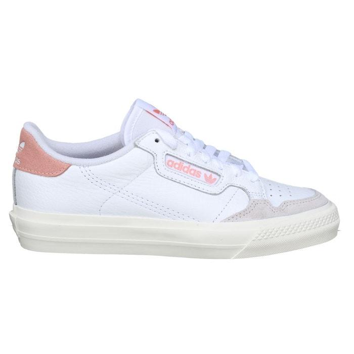 Basket basses à lacets blanc rose Adidas | La Redoute