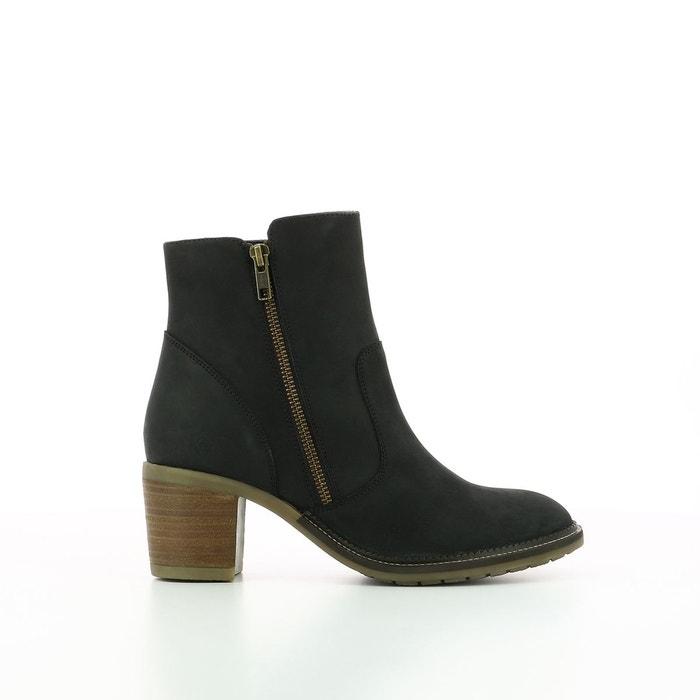 Boots cuir à talon Philomena