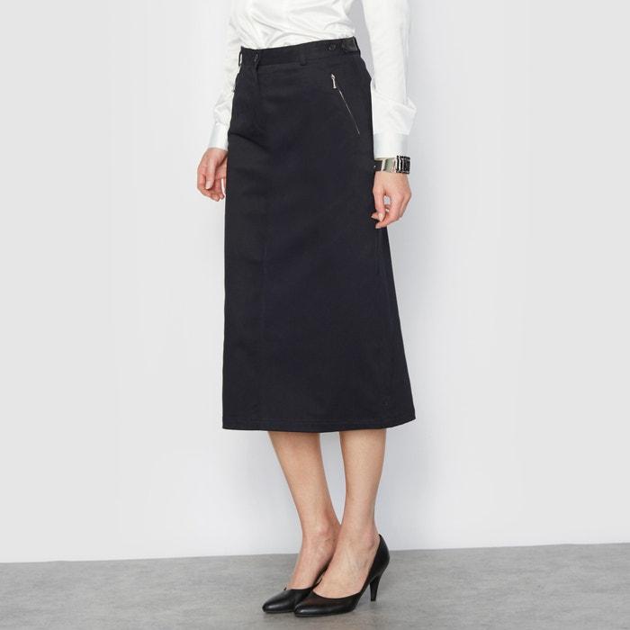 Straight Midi Skirt Anne Weyburn La Redoute