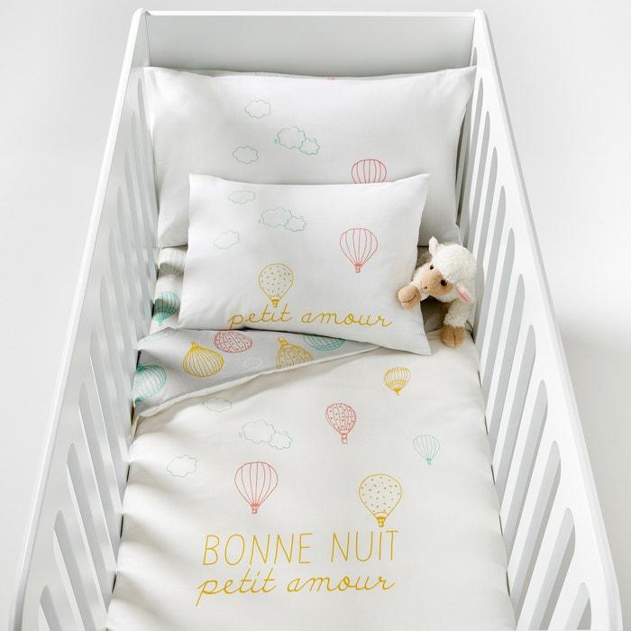 Amabella Cloud Print Cotton Baby Duvet