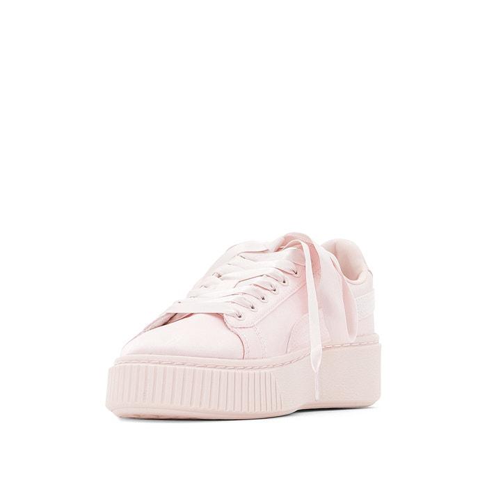 brand new ed38e 40be7 Kids jr platform tween trainers , pink, Puma   La Redoute