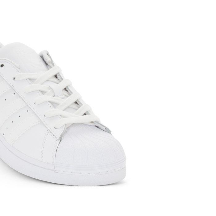 Baskets superstar Adidas Originals blanc | La Redoute