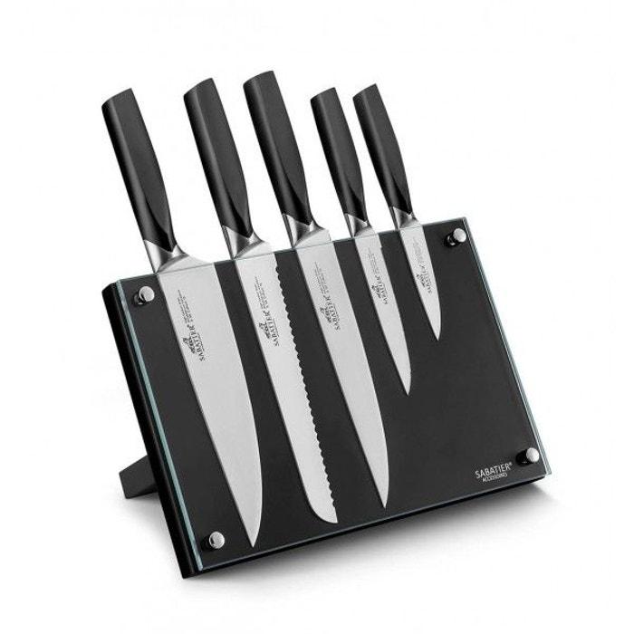 Bloc De Cuisine 5 Couteaux Sabatier International Denver V019845