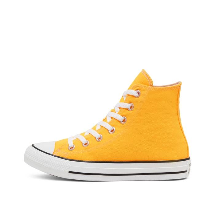 converse jaune 38