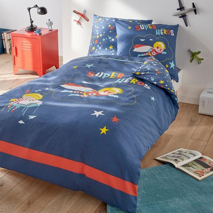 Cotton Duvet Cover, Super Hero Bedding Double